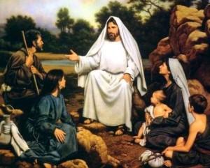 Jeesus opettaa