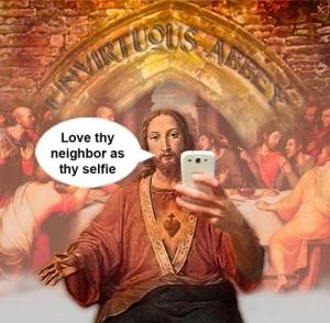 Jesus selfie