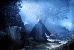 Jeesus rukoilee Getsemanessa