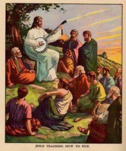 Jeesus virrittelee