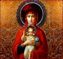 maria ja jeesuslapsi -ikoni