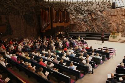 Temppeliaukion kirkko Kauneimmat Virret syyskuu 2015