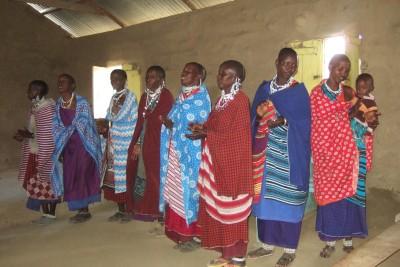 Masai-kirkko Tansaniassa