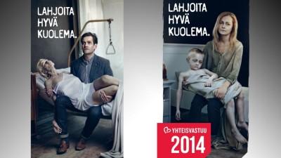 Yhteisvastuu 2014 -keräys julisteet
