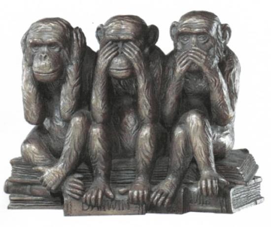 kolme apinaa